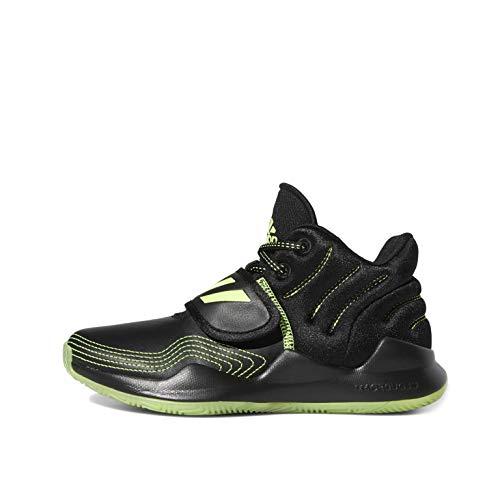 adidas Deep Threat J Sneaker, Negbás/Versen/Negbás, 40 EU