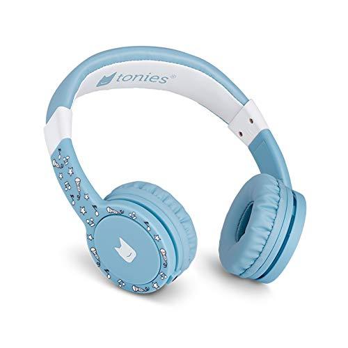 Tonie-Lauscher hellblau: Kinder Kopfhörer passend zur Toniebox - Lautstärke reguliert, Abnehmbares...