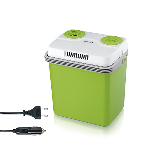 SEVERIN KB 2922 Elektrische Kühlbox (mit Kühl- und Warmhaltefunktion, 20 L, inkl. 2 Anschlüssen:...