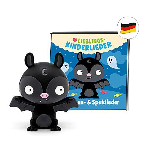 tonies Hörfigur für Toniebox, Lieblings - Kinderlieder – Halloween & Spuk, Hörspiel für Kinder ab 3...