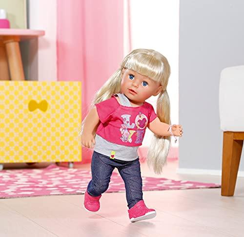 Zapf Creation 820704 BABY born Interactive Sister Puppe mit Funktionen XY cm