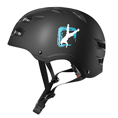 Automoness Skate Helmet,Skaterhelm Bike Helmet Radhelm Kinderhelm Sporthelm CE-Zertifizierung Schützer...