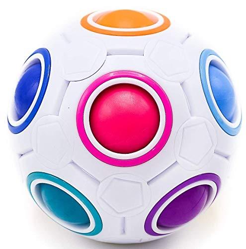 CUBIDI® – Regenbogenball – Geschicklichkeitsspiel für Kinder und Erwachsene – tolles Mitgebsel...