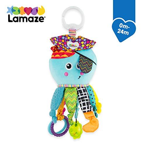 Lamaze Baby Spielzeug Captain Calamari, die Piratenkrake Clip & Go - hochwertiges Kleinkindspielzeug -...