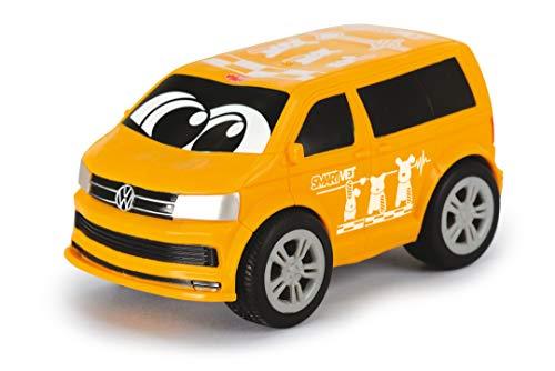 Dickie Toys VW T6 Squeezy mit knautschbarer Karosserie, weicher, knautschbarer Body, farbecht und...