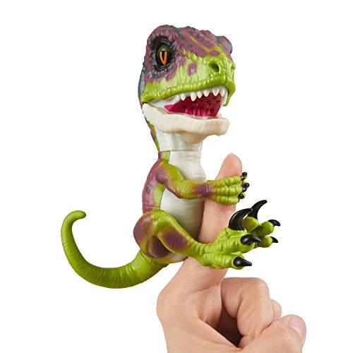 Wow Wee Fingerlings Untamed Velociraptor grün Stealth- 3782 / interaktives Spielzeug, reagiert auf...