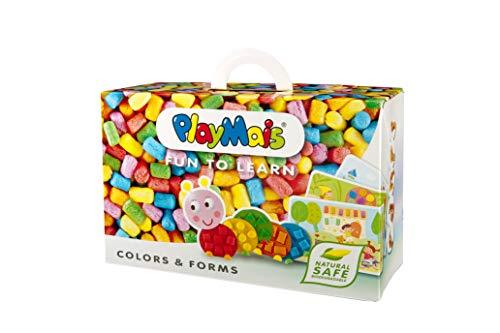 PlayMais Fun to Learn Colors & Forms Bastel-Set für Kinder ab 3 Jahren I Motorik-Spielzeug mit 550...