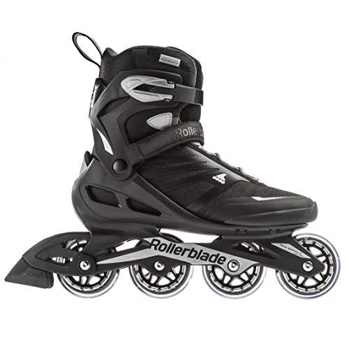 Rollerblade Unisex– Erwachsene ZETRABLADE Inline-Skate, SCHWARZ/Silber, 290