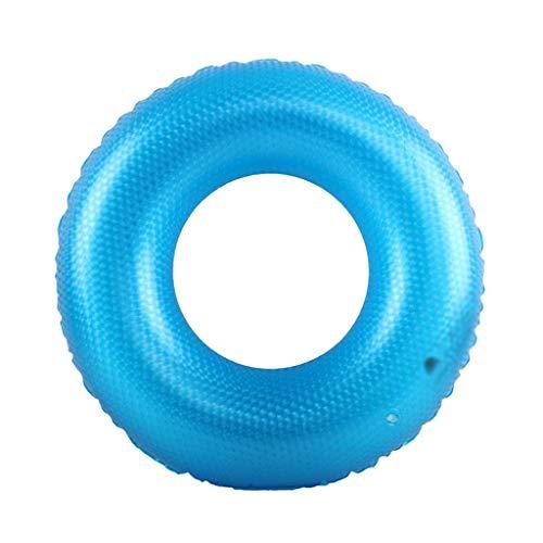Gcxzb Schwimmreifen Pool Aufblasbarer Ring Schwimmen Ring Erwachsene blau Kreative Kinder Schwimmen Ring...