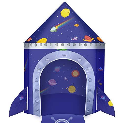 joylink Kinderspielzelt, Castle Spielzelt Playhaus Zelt für Jungen Kinder Schloss Zelt Spielhaus Outdoor...