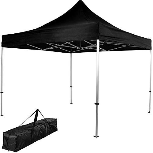 INSTENT® Pro 3x3m Alu-Pavillon, WASSERDICHT (SGS geprüft) + UV-Schutz 50+ (TÜV Rheinland geprüft),...