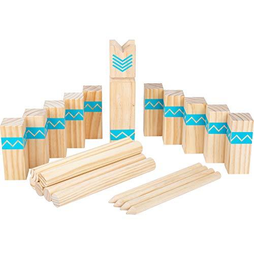 small foot 12036 Wikingerspiel Kubb Active, aus FSC 100%-zertifiziertem Holz, Outdoorspiel für die ganze...