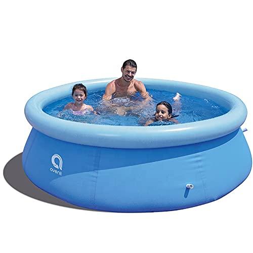 Avenli Family Prompt Set Pool Ø 240x63cm Aufstellpool ohne Pumpe, Pool Set , Gartenpool, Schwimmbecken...