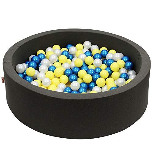 snugo®️ Bio-Bällebad Nachtkatze I Ballbad mit 300 Bällen I natürliche Bälle aus Zuckerrohr I frei...