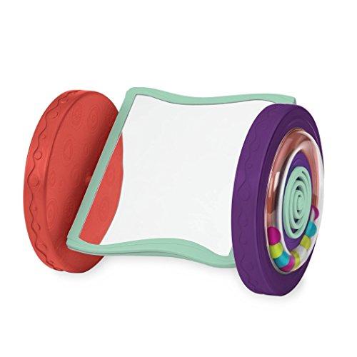 B. toys by Battat BX1461Z B. toys Babyspielzeug – Rollender Spiegel – Krabbel Spielzeug und in...