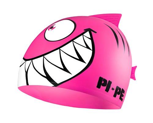 PI-PE Kinder Badekappe Sharky, Rosa, One Size, PBS-1-P