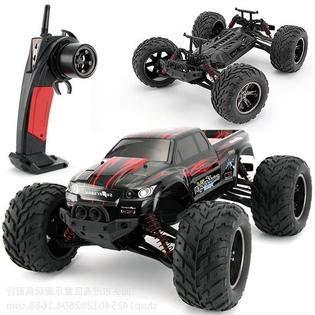 s-idee® 9115 rot RC Auto Buggy wasserdichter Monstertruck 1:12 mit 2,4 GHz über 40 km/h schnell wendig...