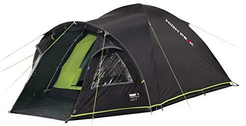 High Peak Kuppelzelt Talos 3, Campingzelt mit Vorbau, Iglu-Zelt für 3 Personen, doppelwandig, 4.000 mm...