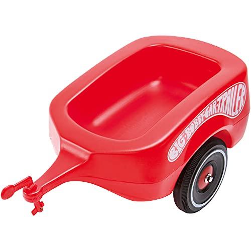 BIG-Bobby-Car Trailer Rot - Bobby-Car Anhänger für drinnen und draußen, für das BIG-Bobby-Car und die...