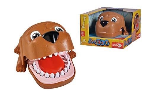 Noris 606064050 Bulldog, Aktionsspiel für Die ganze Familie (Keine Batterien erforderlich), für Kinder...