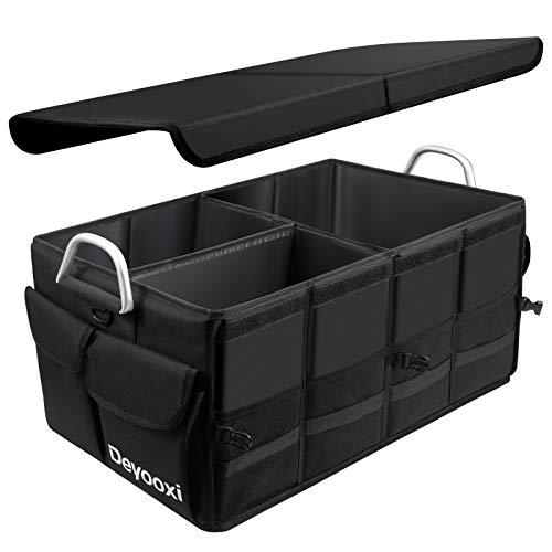 Deyooxi Kofferraum Organizer,Kofferraumtasche mit Deckel,Auto Organizer Kofferraum,Auto Kofferraum Box...