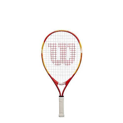 Wilson US Open 21, WRT20310U Racket Tennis für Kinder, Rot / Gelb, Kindergröße: 100 bis 115 cm
