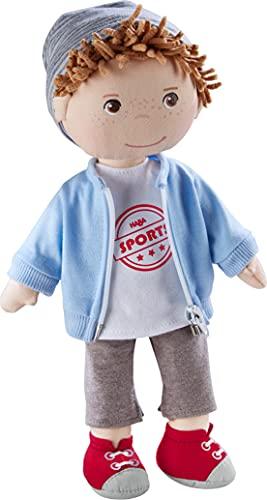 HABA 305971 Puppe Arne, 30cm, ab 1,5 Jahren, mit weichem Körper