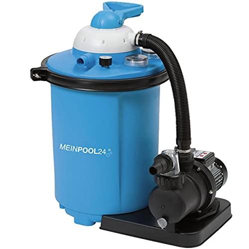MEINPOOL24.DE Filteranlage Speed Clean Comfort 75 Poolfilter Sandfilter für Pools bis 40.000 Liter,...
