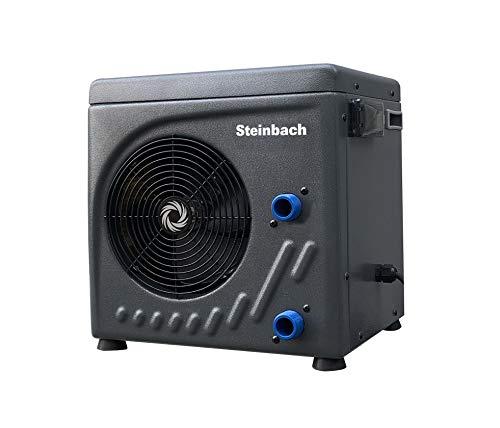 Steinbach Wärmepumpe Mini, für Pools bis 20.000 l Wasserinhalt, Heizleistung 3,9 kW, 220V...