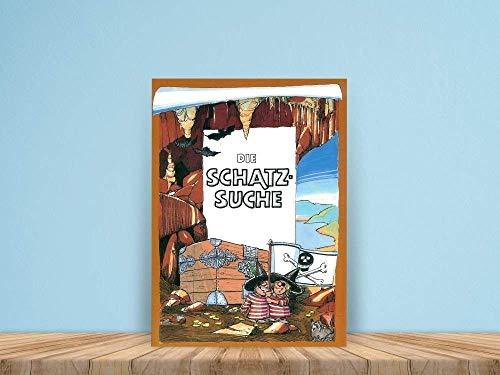 Die Schatzsuche Personalisiertes Kinderbuch