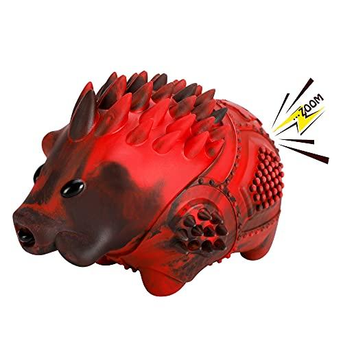 Hundespielzeug, Unzerstörbares Kauspielzeug Hund, Gummi Quietschspielzeug für Große Mittlere Hunde,...