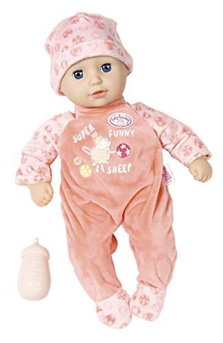 Zapf Creation 704554 Baby Annabell Little Annabell Puppe mit weichem Stoffkörper und Schlafaugen 36 cm,...