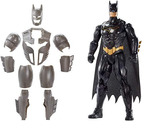 Mattel FYY22 - DC Batman Deluxe Figur mit Geräuschen 30 cm Actionfigur, Spielzeug Actionfiguren ab 4...