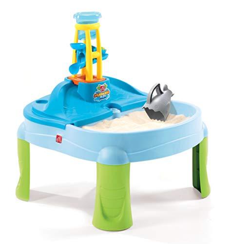 Step2 Splash & Scoop Bay Sand & Wassertisch   Wasserspieltisch für Kinder in Blau   Wasserspielzeug /...