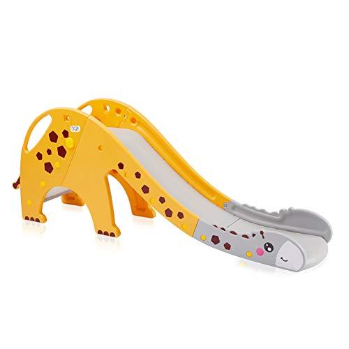 Baby Vivo Kinder Rutsche Kinderrutsche Gartenrutsche Kleinkinderrutsche Kunststoff Giraffe Garten Rutsche...