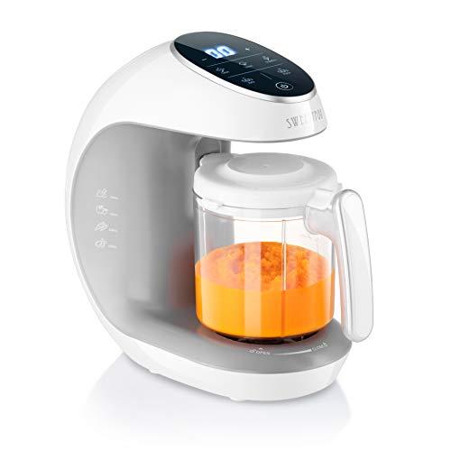 Sweety Fox - Multifunktions Babynahrungszubereiter 7-in-1 - Dampfgarer, Mixer, Pulse, Automatische...