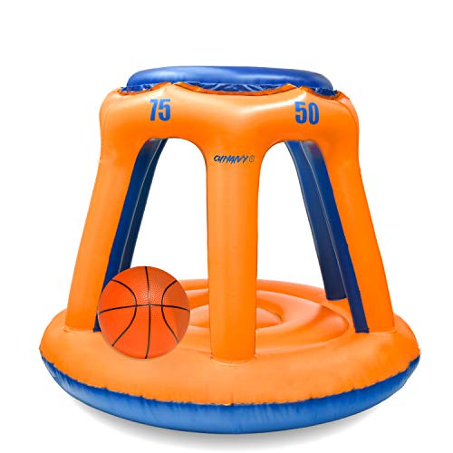 Chnaivy Pool Basketballkorb Perfektes Indoor Outdoor Schwimmen Basketballkorbset Bester Wassersport...