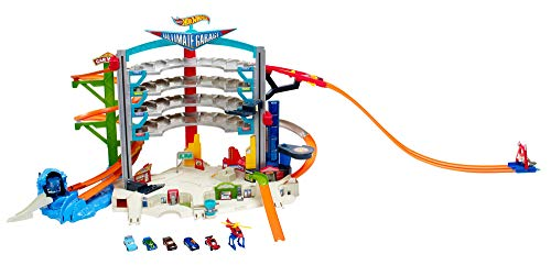 Hot Wheels -City Megacity Parkgarage und Parkhaus