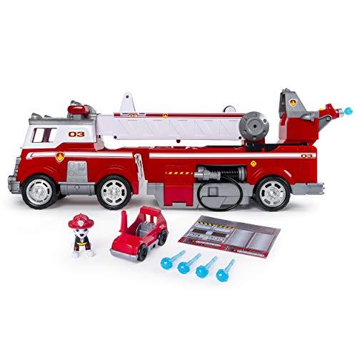 PAW Patrol Ultimate Rescue Feuerwehrauto mit Marshall - Figur