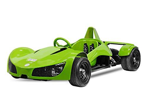 Elektro Rennwagen 1000W 48V GT Razer Elektrofahrzeug Kinderfahrzeug Quad (Grün)