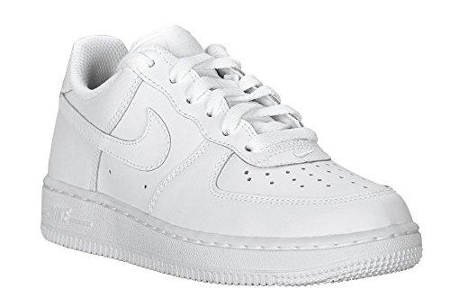 Nike Force 1 (PS) Basketballschuhe Kinder, Weiß - weiß - Größe: EU 34