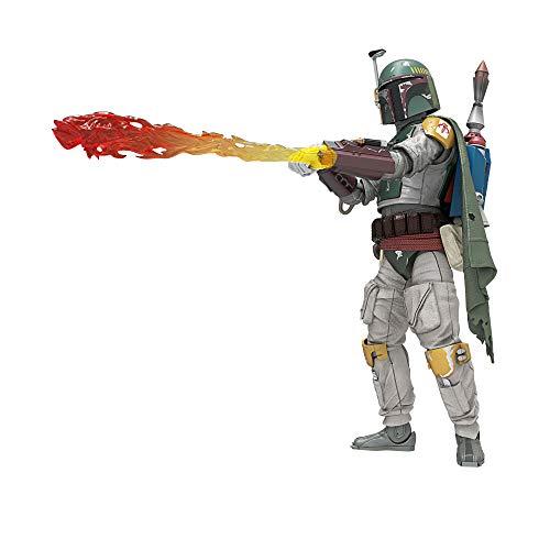 Hasbro Star Wars The Black Series Boba Fett 15 cm große Deluxe Action-Figur zu Star Wars: Die Rückkehr...
