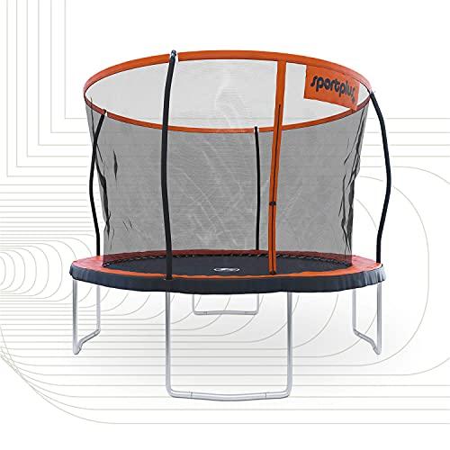 SportPlus TÜV geprüftes Gartentrampolin 305 & 366 cm, Standfeste Konstruktion, Outdoor Trampolin für...