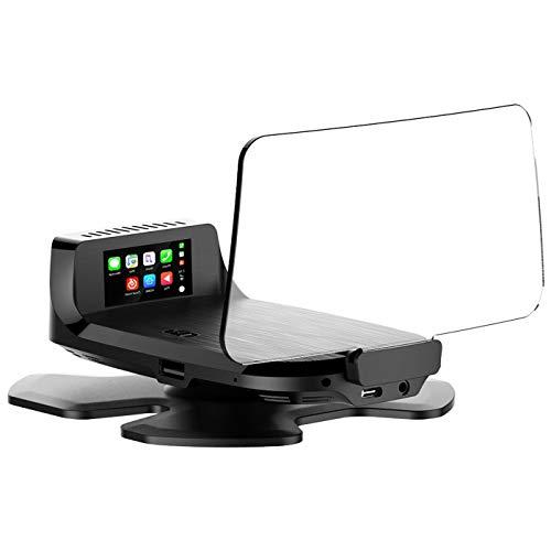 LFJG HUD-Head-Up-Display, Hochauflösende Auto-OBD-Digitalanzeige Für Fahrzeuggeschwindigkeit,...