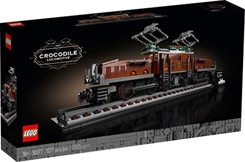 LEGO Creator 10277 Die Lokomotive Krokodil 1271 Teile