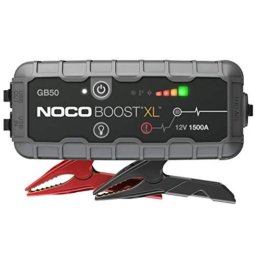 NOCO Boost XL GB50 1500A 12V UltraSafe Starthilfe Powerbank, Tragbare Auto Batterie Booster,...