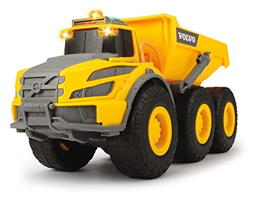 Dickie Toys 203723004 Volvo Knickgelenkter Dumper, Kipper, Muldenkipper, Kipplaster, Baufahrzeuge Kinder,...