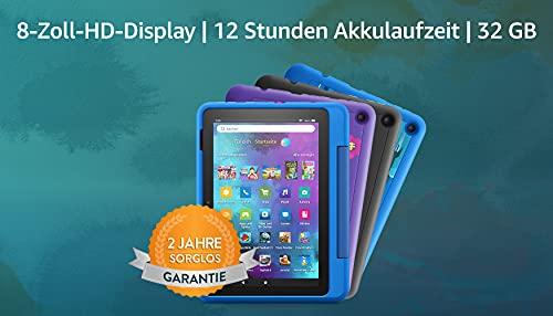 Wir stellen vor: das Fire HD 8 Kids Pro-Tablet | 20,3 cm großer Bildschirm (8 Zoll), 32 GB, kindgerechte...