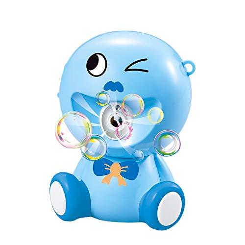 Zilosconcy Seifenblasenmaschine Kinder Spielzeug mit Musik und Licht Automatische Cartoons Blasenmaschine...