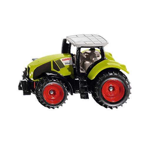 siku 1030, Claas Axion 950 Traktor, Metall/Kunststoff, Grün, Inkl. Anhängerkupplung, Räder mit...
